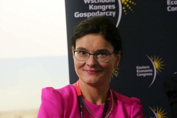 Nina Dobrzyńska, wiceprezes Polskiej Agencji Rozwoju Przedsiębiorczości. Fot. PTWP