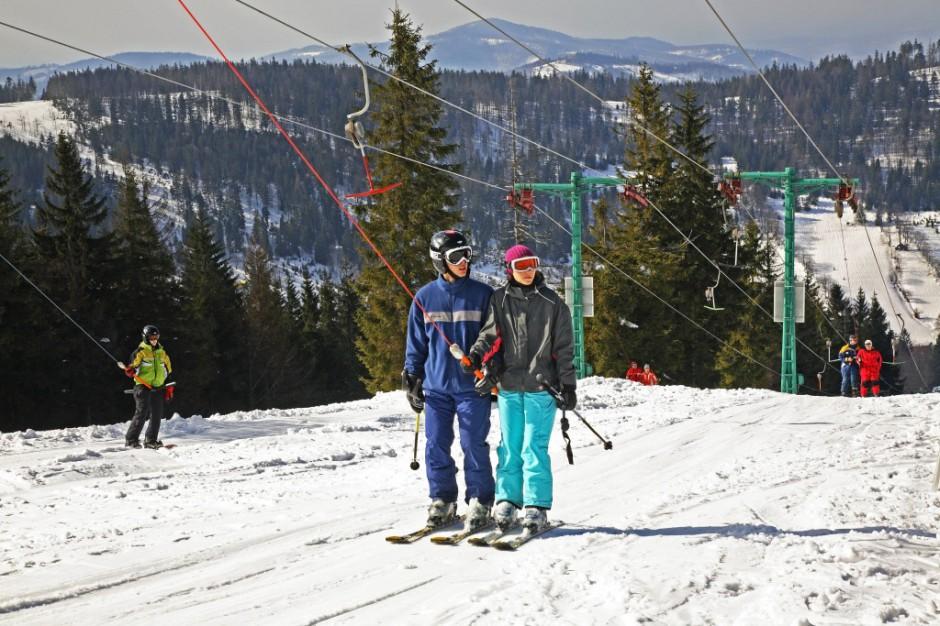 Halny opóźnił otwarcie Szczyrk Mountain Resort