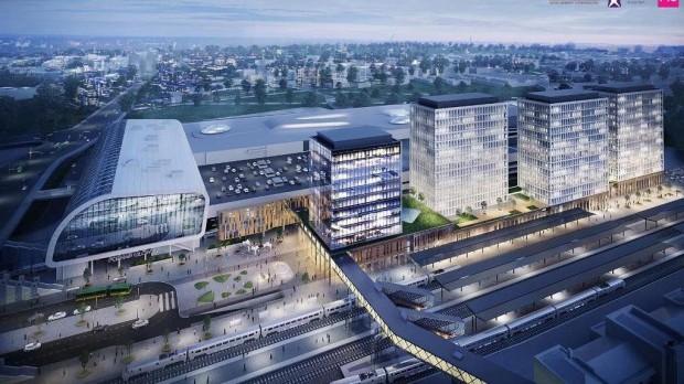Władze Poznania chcą od PKP SA informacji ws. inwestycji dotyczącej kładki wzdłuż dworca