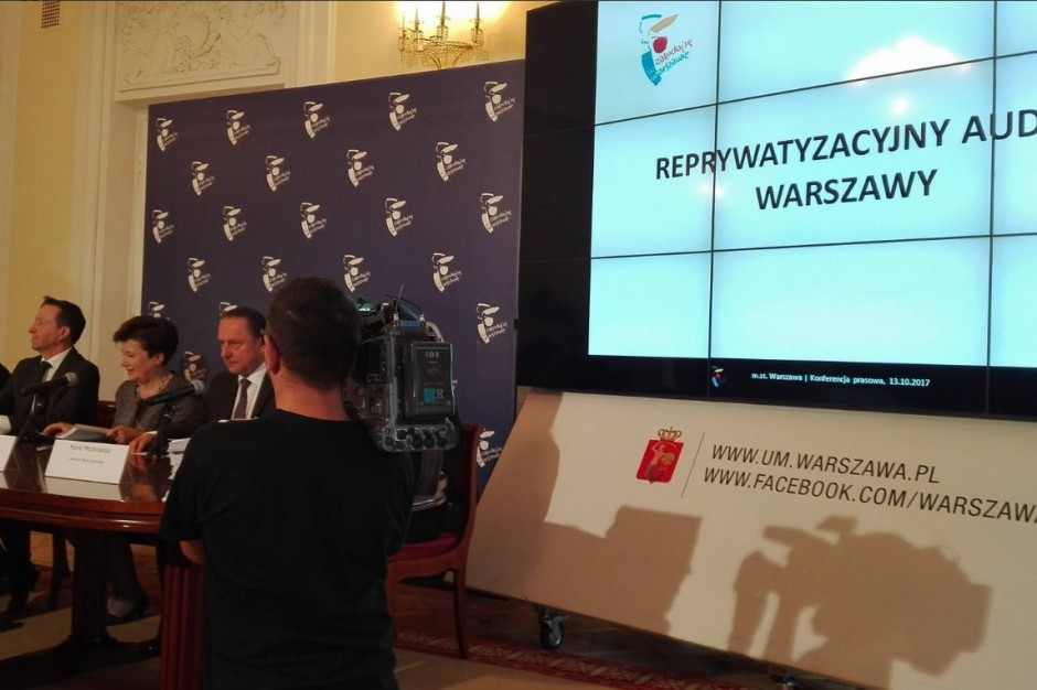Gronkiewicz-Waltz o audycie ws. reprywatyzacji: bardzo szeroki, ważny