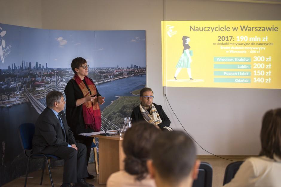 Warszawa, Kraków, Wrocław, Poznań, Łódź, Lublin czy Gdańsk. Ile wynoszą dodatki motywacyjne dla nauczycieli?