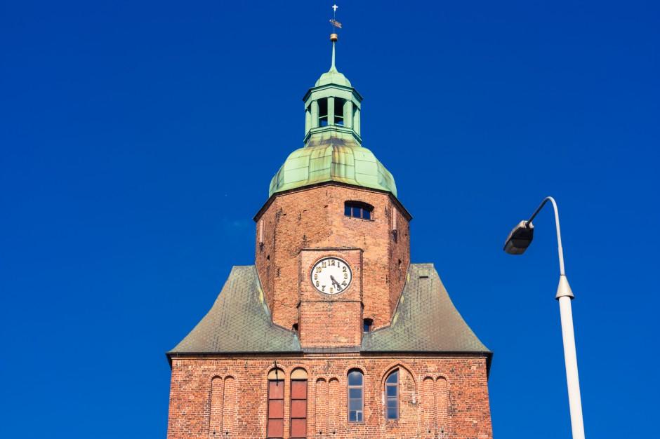 Zwarcie elektryczne przyczyną pożaru w gorzowskiej katedrze