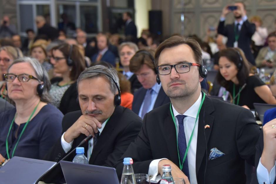 Sławomir Mazurek: Odpady muszą być traktowane jako surowce wtórne