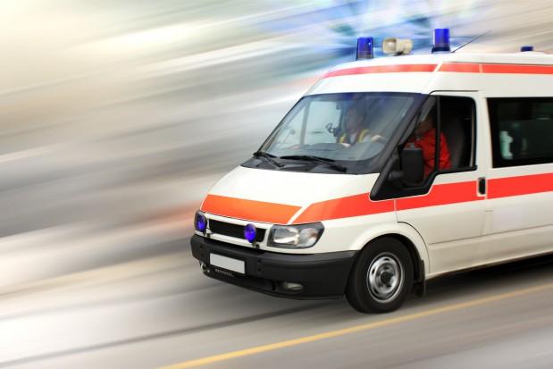 Wiele osób w szpitalu po zderzeniu na DK91
