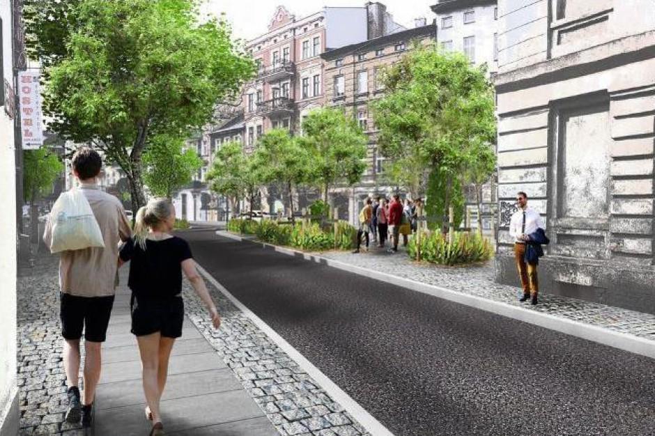 Poznań: Remont ul. Rybaki. Będzie więcej drzew, ławek i zieleni