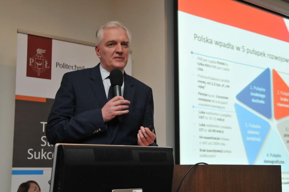 Jarosław Gowin: zmiany w ordynacji wyborczej zwiększą kontrolę nad wyborami