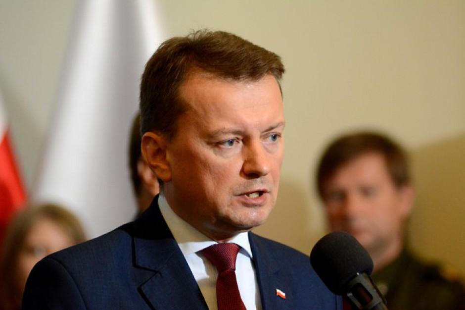 Mariusz Błaszczak: Na służbach państwowych można polegać. Na samorządach nie