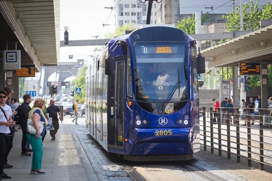 Alicja Chybicka chce rozwijać transport publiczny we Wrocławiu
