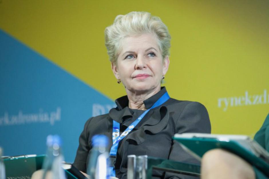 Beata Małecka-Libera: sieć szpitali bez kryterium jakości