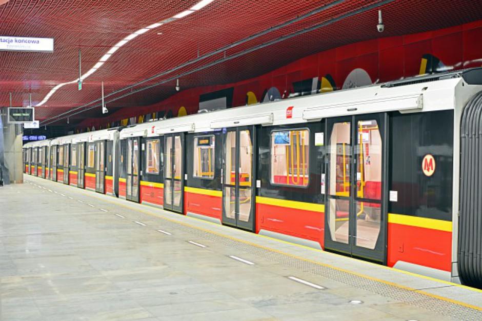 Gigantyczny przetarg na pociągi dla metra w Warszawie