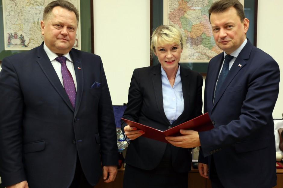 Renata Szczęch podsekretarzem stanu w MSWiA