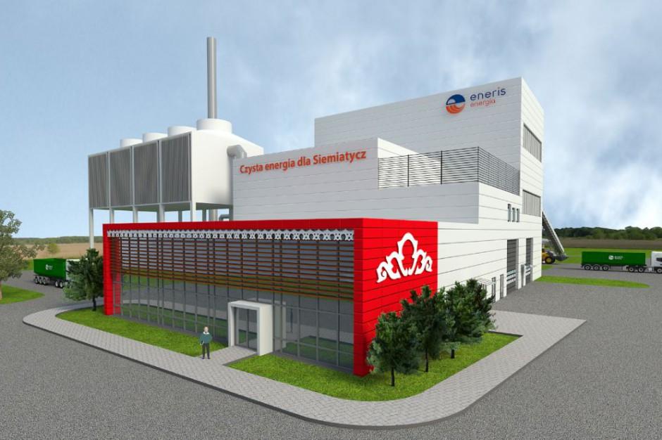 Eneris zbuduje w Siemiatyczach nowoczesną elektrociepłownię na biomasę