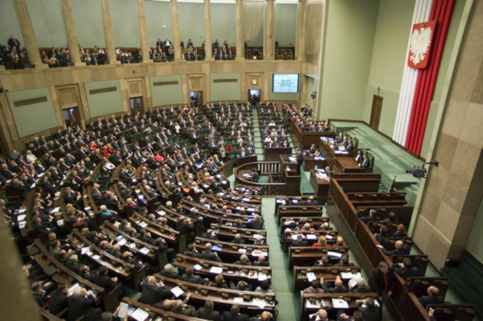 Sejm. Projekt dot. sprawozdań podatkowych gmin na głosowanie