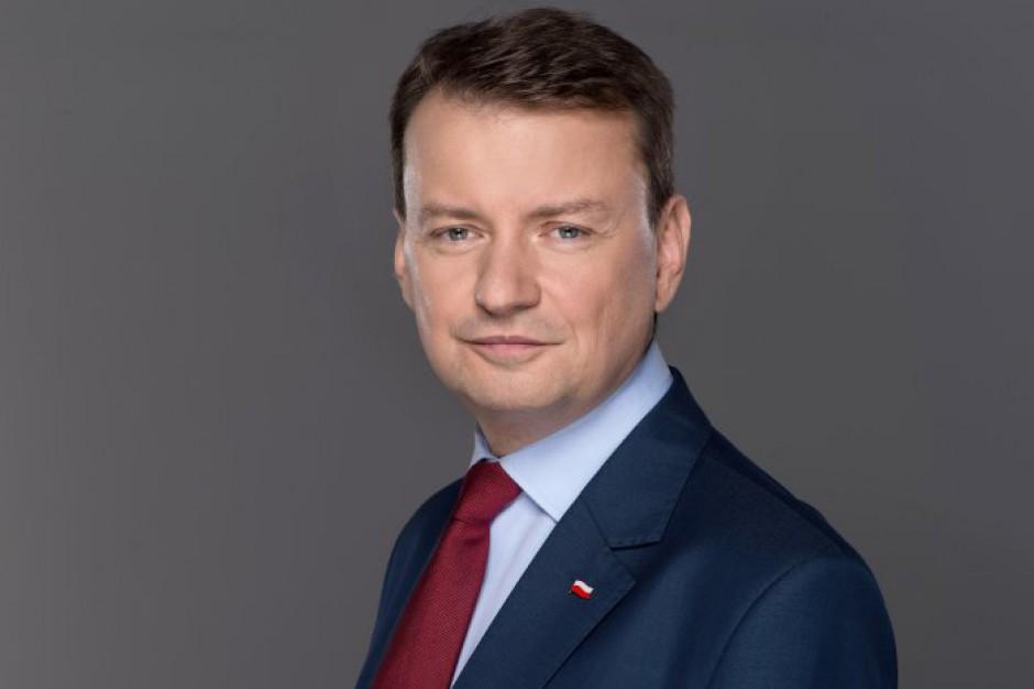 Szef MSWiA: w woj. warmińsko-mazurskim zagrożenie wciąż realne