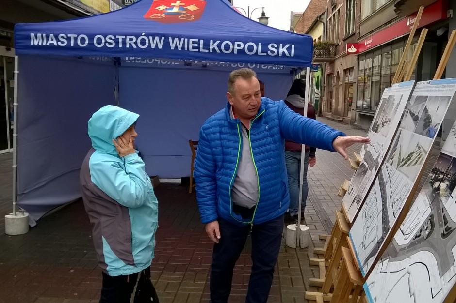 Ostrów Wielkopolski. Społecznicy wyszli na ulice rozmawiać o rewitalizacji