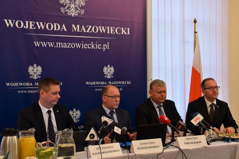Wojewoda Zdzisław Sipiera zapowiada rozwój delegatur urzędu wojewódzkiego na Mazowszu