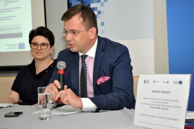 Wiceminister Adam Hamryszczak (fot.mr.gov.pl)