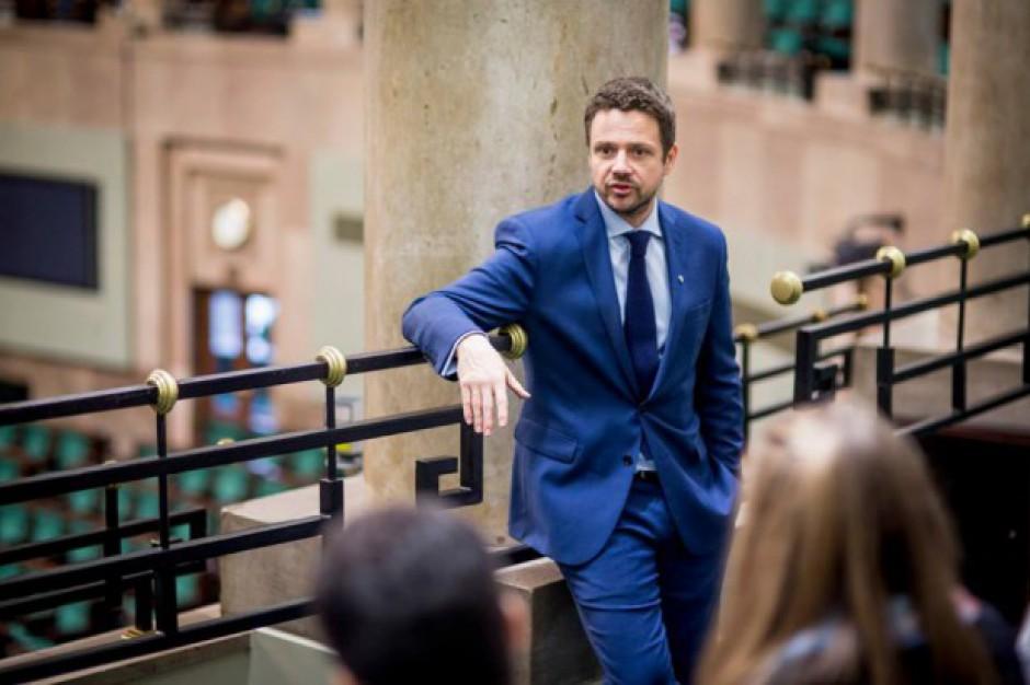Spór wokół kandydatury Trzaskowskego na prezydenta Warszawy. Lubnauer: PiS tylko na to czekał