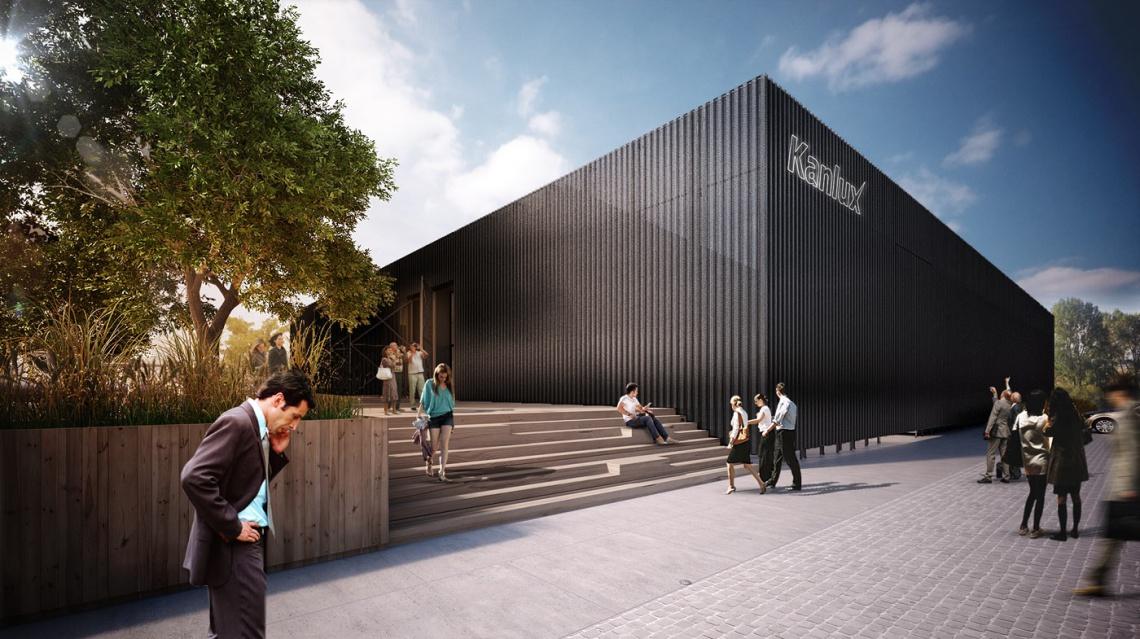 Nowa elewacja wizualnie łączy wszystkie segmenty budynku tworząc spójną bryłę (fot.Medusa Group)