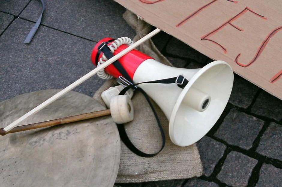 Strajk pracowników Domu Pomocy Społecznej w Częstochowie