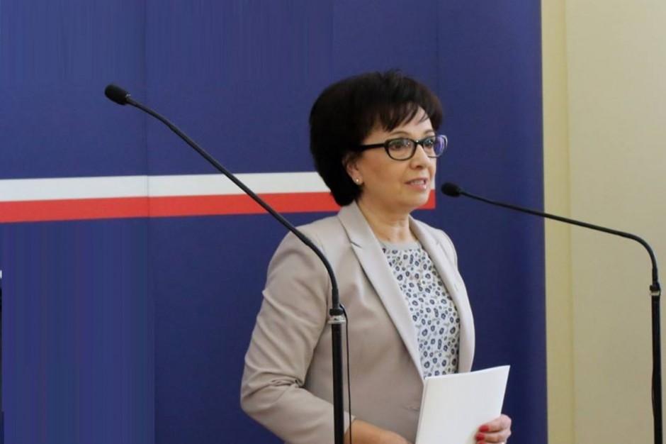 Elżbieta Witek: Poprzednie wybory samorządowe były zmanipulowane