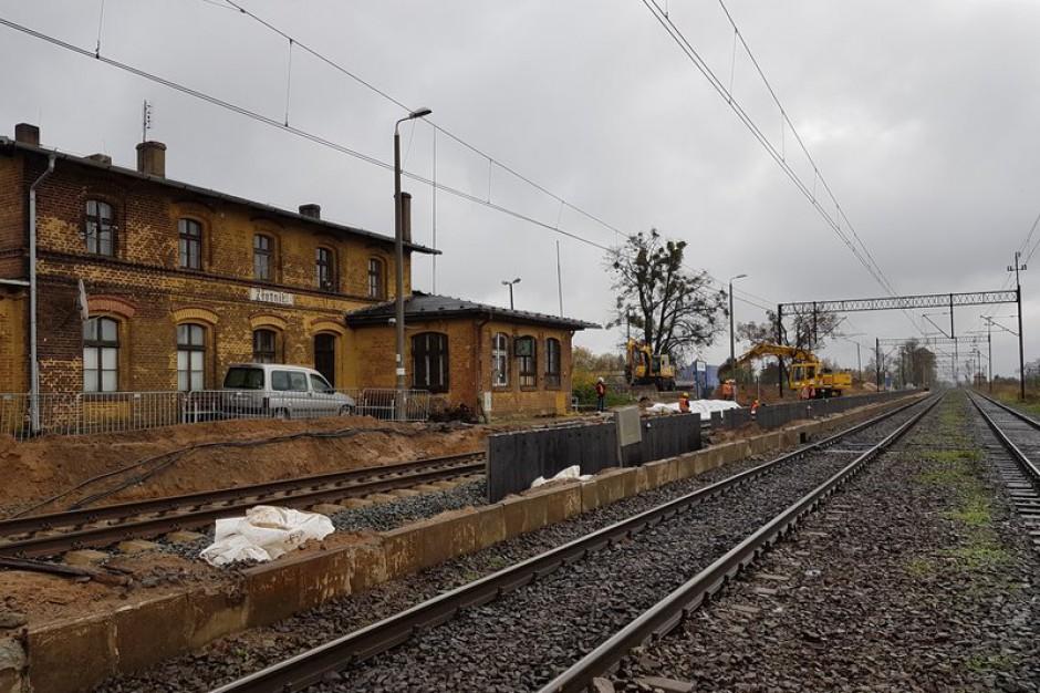 Za dwa lata pociągiem z Poznania do Piły szybciej o 40 minut