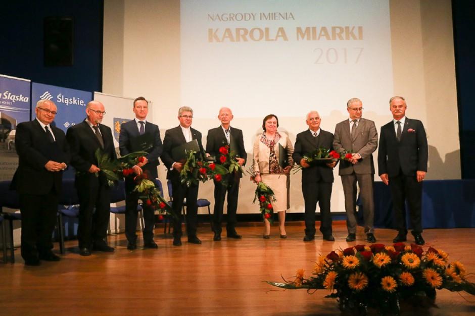 Samorządy Śląskiego i Opolskiego wręczyły nagrody im. Karola Miarki