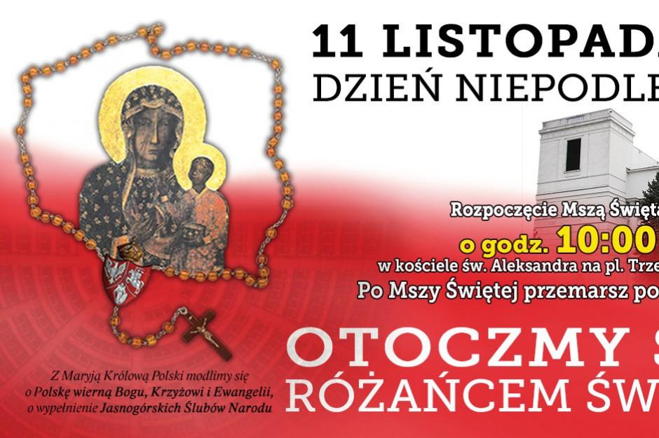 Krucjata Różańcowa skarży się na warszawski ratusz, że blokuje reklamy