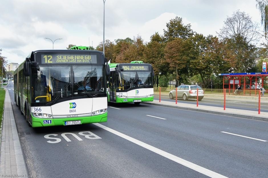 Białystok. Radni PiS proponują nowe rodzaje biletów komunikacji miejskiej