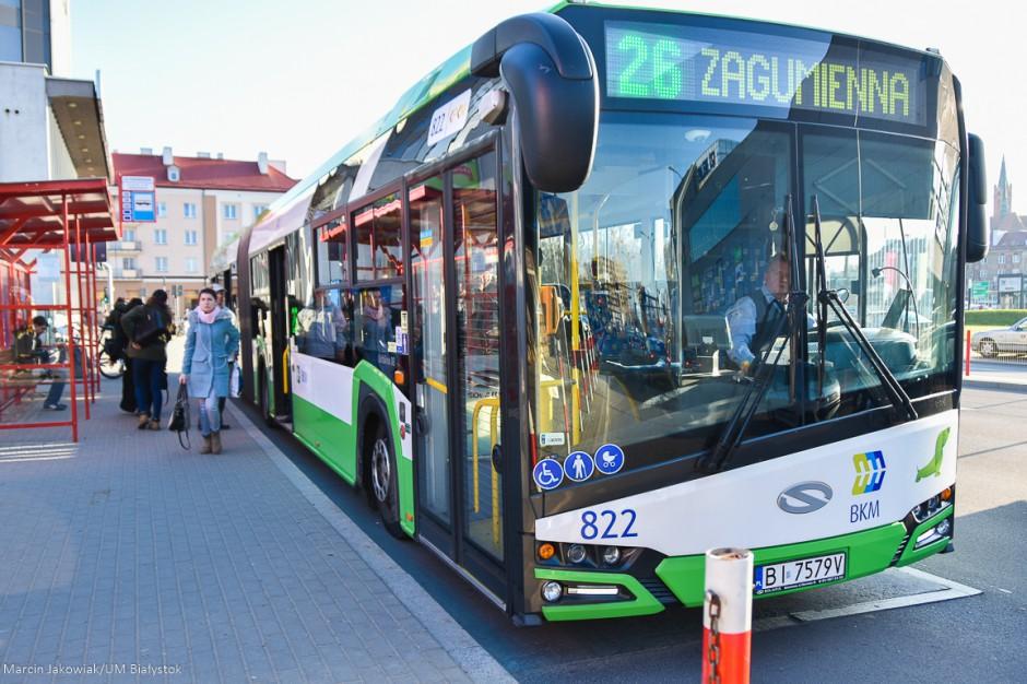 Białystok chce kupić 20 nowoczesnych autobusów miejskich