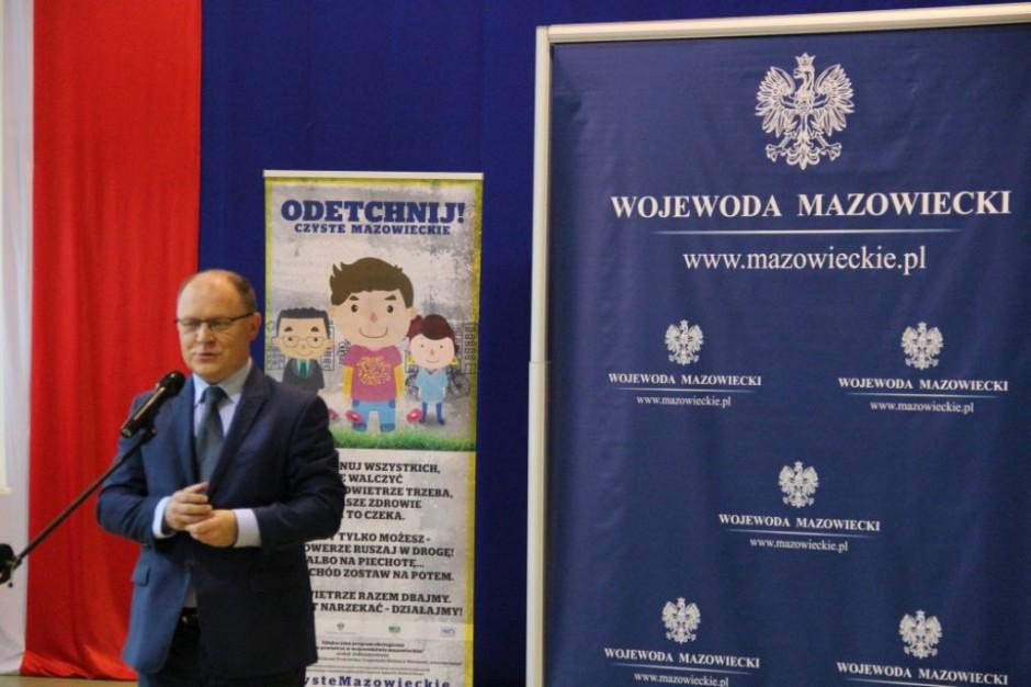 100 spotkań dla czystego powietrza na Mazowszu