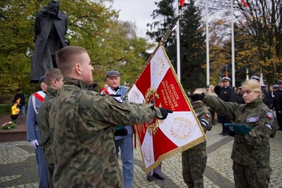 Ewa Kopacz i Bogdan Borusewicz na XV Paradzie Niepodległości w Gdańsku