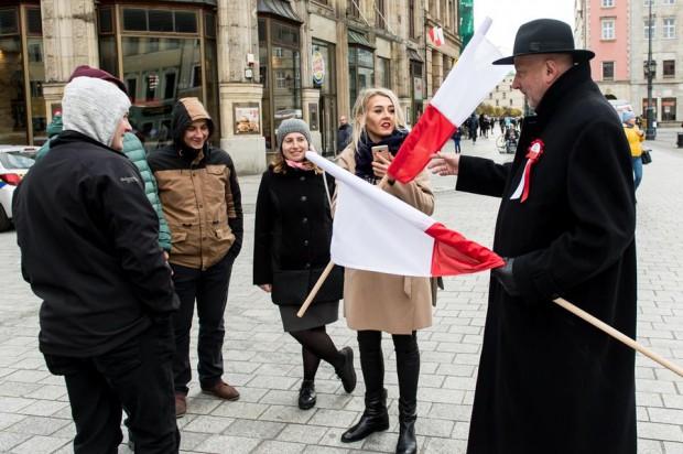 Święto niepodległości na Dolnym Śląsku. Parada Niepodległości przeszła przez Wrocław