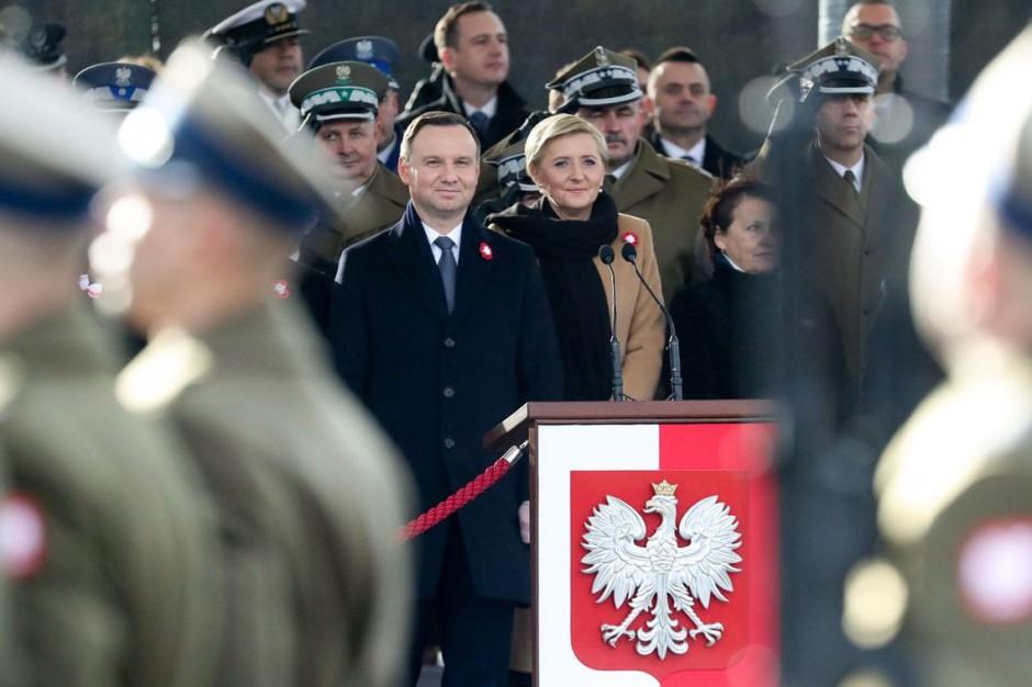 W Święto Niepodległości prezydent Duda o Gdyni i Stalowej Woli: to symbole odrodzonej Polski
