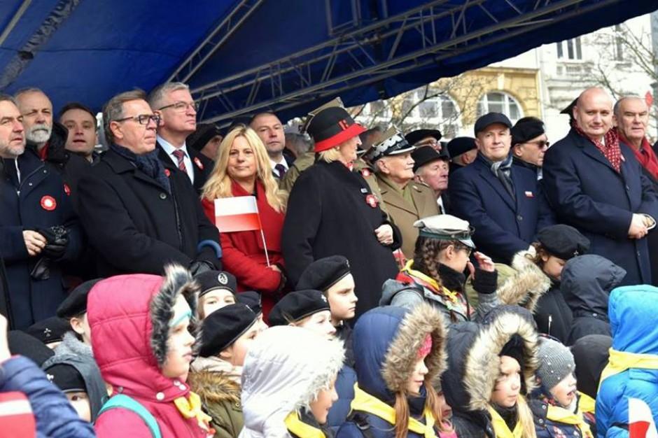 W Święto Niepodległości tradycyjne imieniny ulicy Św. Marcin w Poznaniu