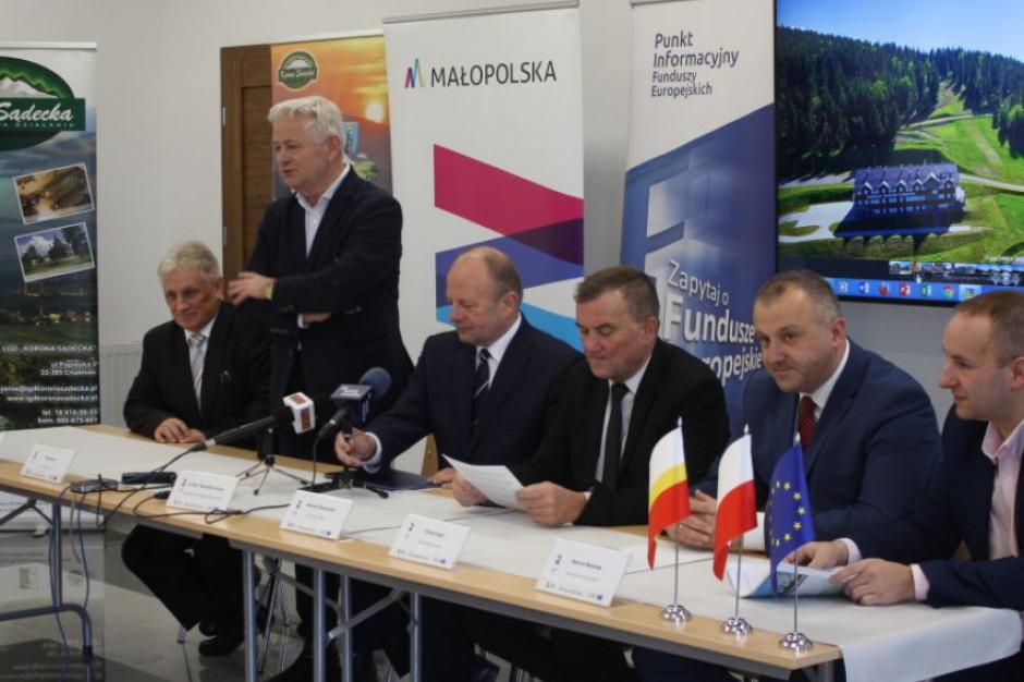 Centra rekreacyjno-sportowe powstaną w gminie Chełmiec, Grybów, Kamionka Wielka i w Grybowie