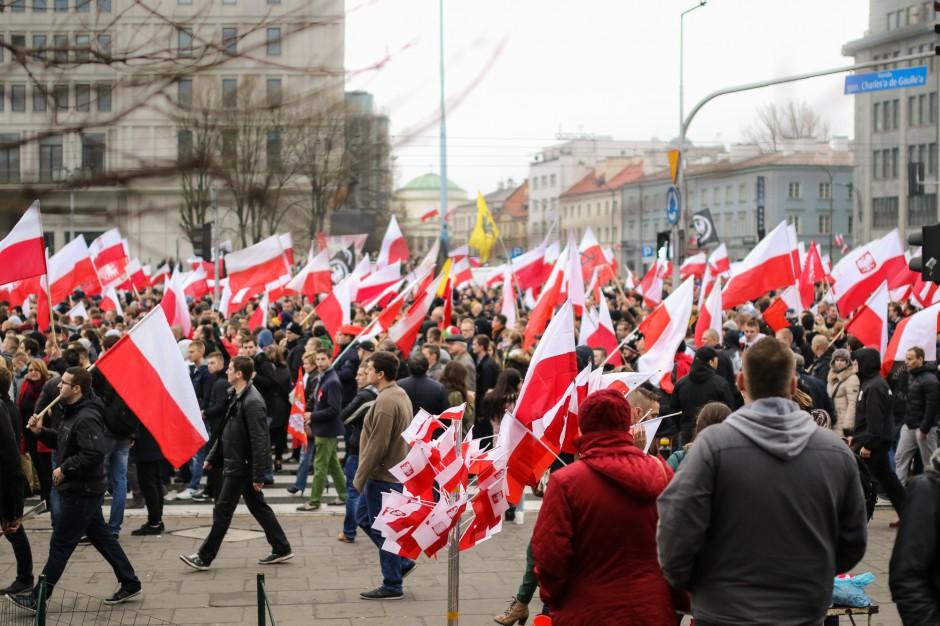 MSZ: Marsz Niepodległości był wielkim świętem Polaków