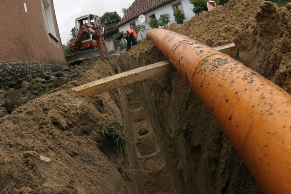 W 2019 r. przekazano 4,2 tys. km sieci kanalizacyjnej odprowadzającej ścieki