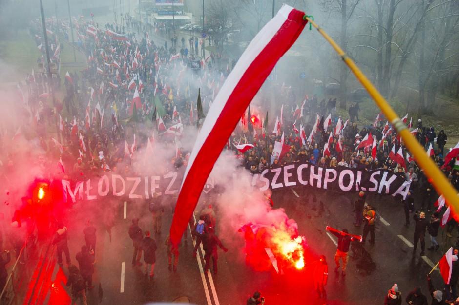 Obywatele RP: prezydent Warszawy powinna była rozwiązać Marsz Niepodległości