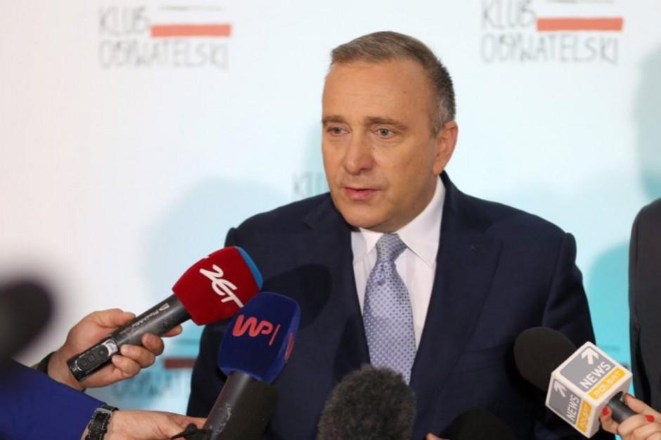 Grzegorz Schetyna: Będę namawiał do budowania szerszej koalicji przed wyborami samorządowymi