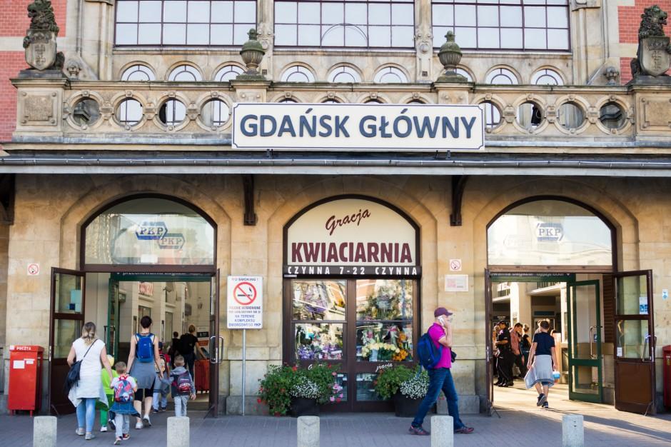 Trwa przebudowa peronów i stacji kolejowej Gdańsk Główny