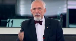 Janusz Korwin-Mikke: autorzy 500 plus powinni stanąć przed sądem