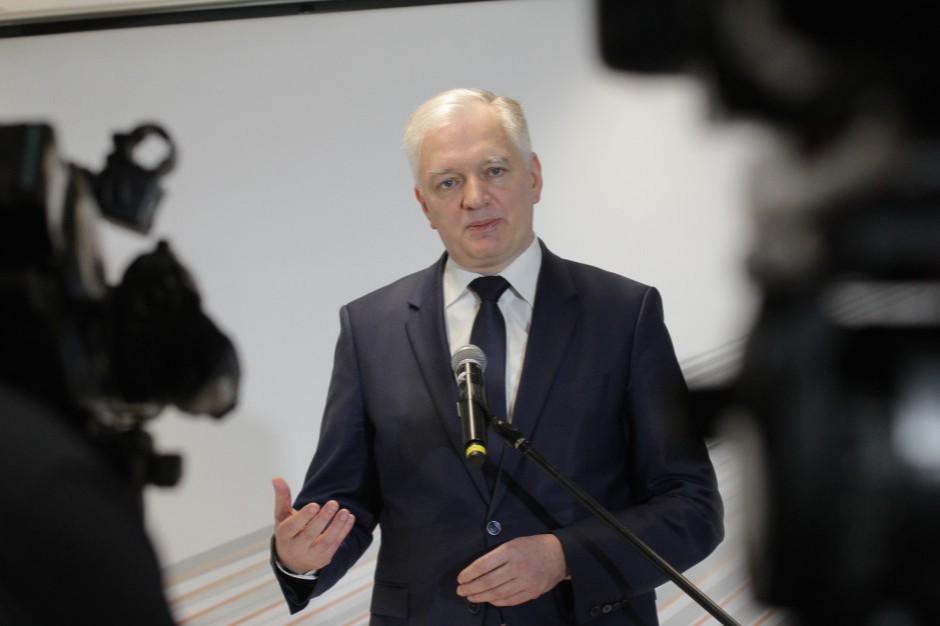 Jarosław Gowin: Porozumienie nie wskaże kandydata na prezydenta Poznania