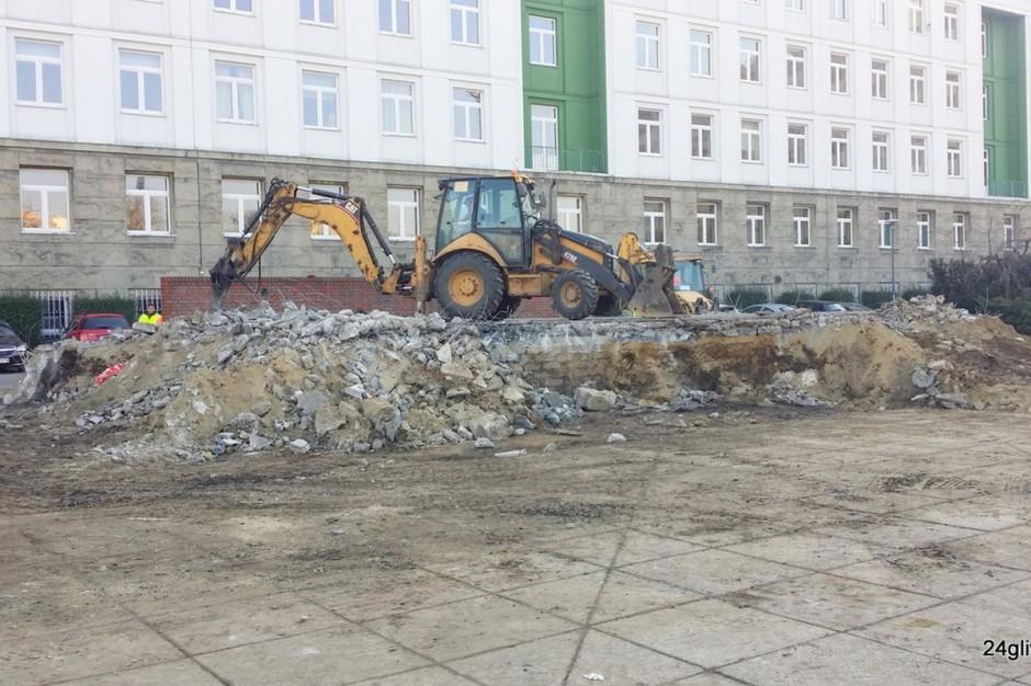 Gliwice przebudowują Plac Krakowski. Znika estrada