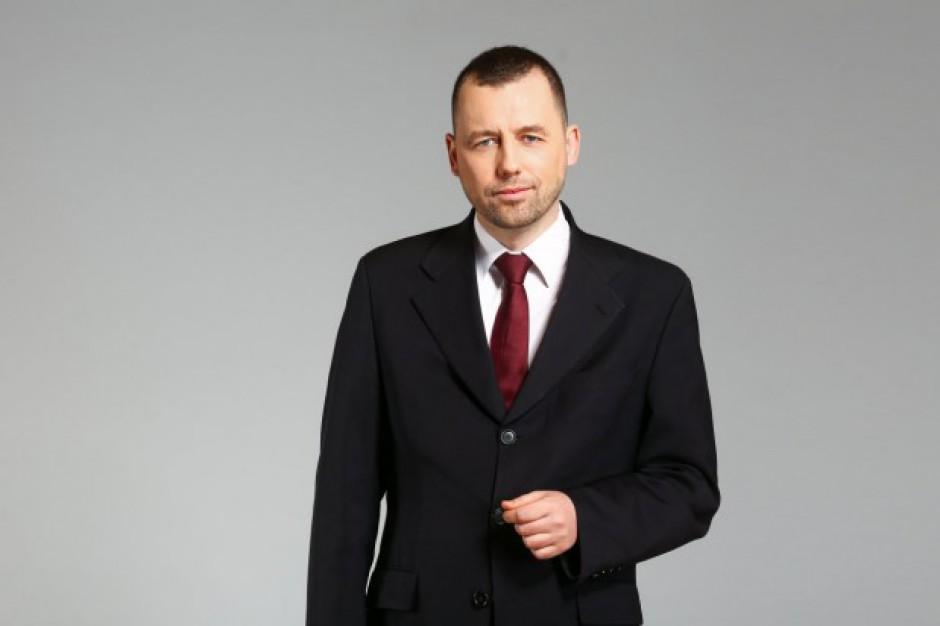 Wstępny harmonogram inwestycji, stwierdził, że celem jest, to żeby w 2027 roku CPK przyjął pierwszy samolot - powiedział Wild (Mikołaj Wild, fot. mat. pras.)