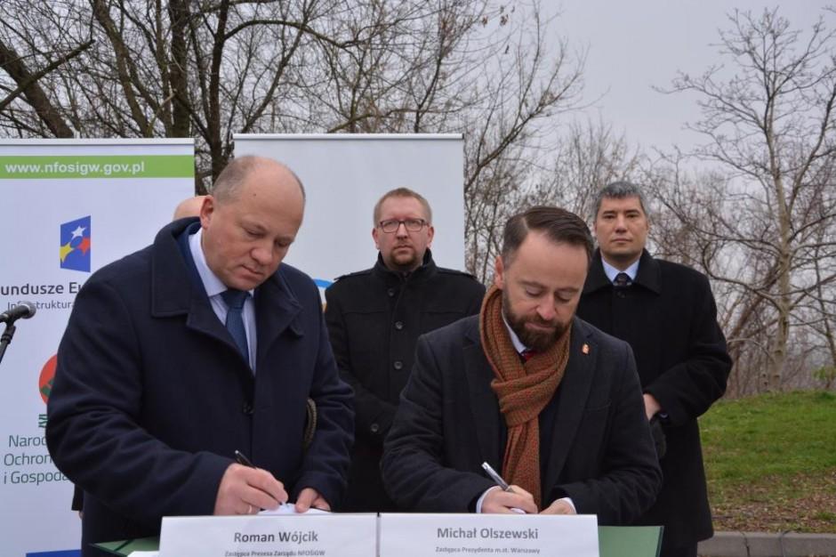 NFOŚiGW przekaże 21,6 mln zł na trzy parki o symbolice historycznej w Warszawie