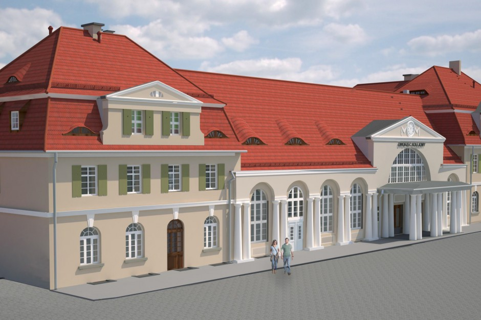 SKB S.A. z Warszawy zmodernizuje dworzec w Żaganiu