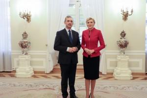 """Prezes ZNP po spotkaniu z Pierwszą Damą: """"To nie było zmarnowane 50 minut"""""""