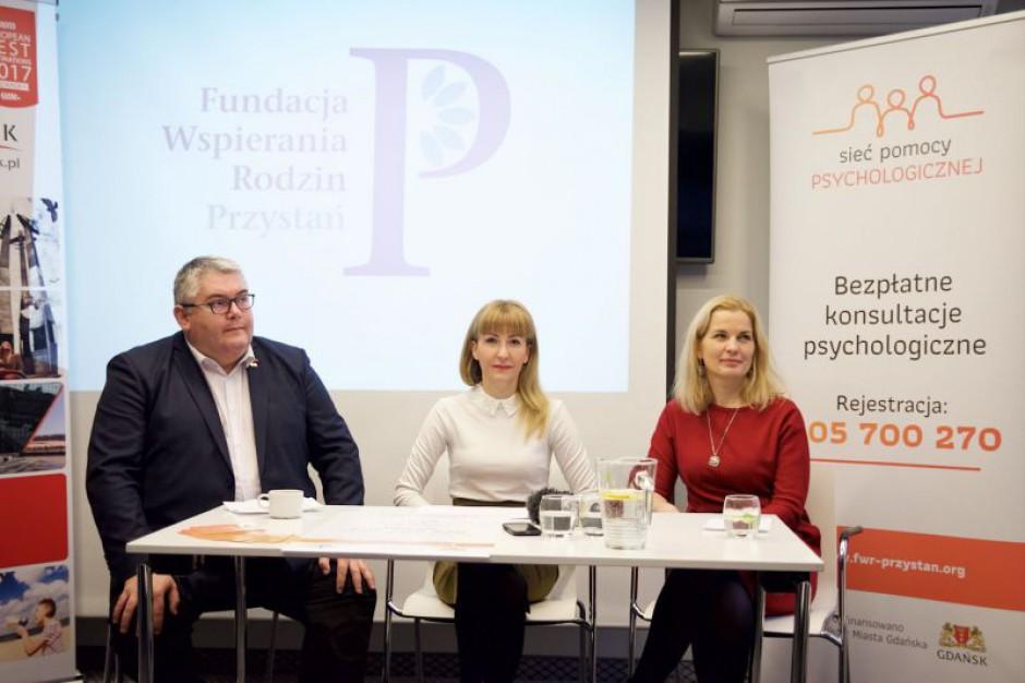 Gdańsk uruchomił sieć pomocy psychologicznej dla mieszkańców