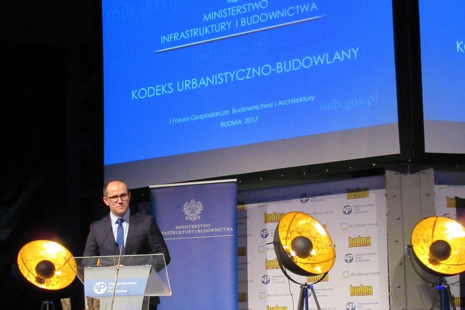 Ministerstwo Infrastruktury i Budownictwa przedstawiło nową wersję Kodeksu urbanistyczno-budowlanego